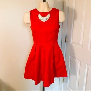 Jack Wills Square Pleated Dress